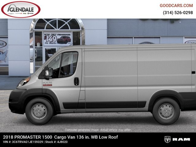 2018 ProMaster 1500 Standard Roof FWD,  Empty Cargo Van #4J8020 - photo 5