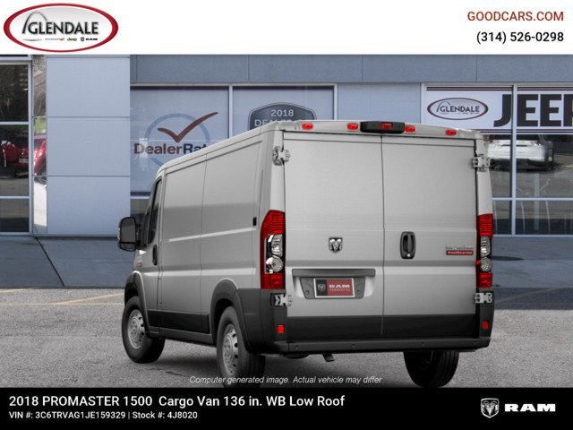 2018 ProMaster 1500 Standard Roof FWD,  Empty Cargo Van #4J8020 - photo 7