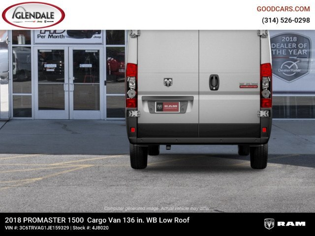 2018 ProMaster 1500 Standard Roof FWD,  Empty Cargo Van #4J8020 - photo 8