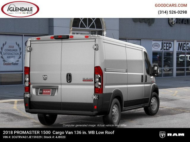 2018 ProMaster 1500 Standard Roof FWD,  Empty Cargo Van #4J8020 - photo 9