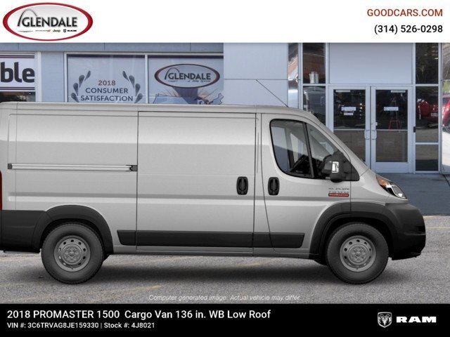 2018 ProMaster 1500 Standard Roof FWD,  Empty Cargo Van #4J8021 - photo 11