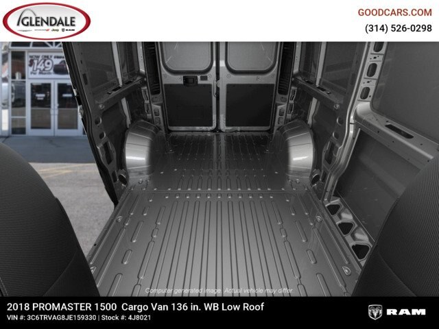 2018 ProMaster 1500 Standard Roof FWD,  Empty Cargo Van #4J8021 - photo 2