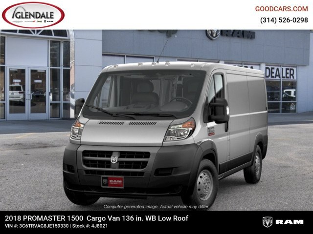 2018 ProMaster 1500 Standard Roof FWD,  Empty Cargo Van #4J8021 - photo 4
