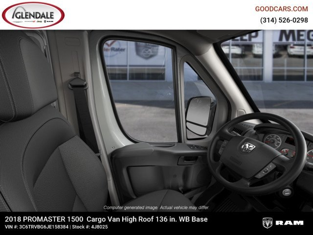 2018 ProMaster 1500 High Roof FWD,  Empty Cargo Van #4J8025 - photo 16