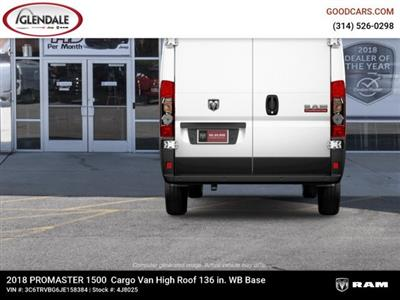 2018 ProMaster 1500 High Roof FWD,  Empty Cargo Van #4J8025 - photo 8