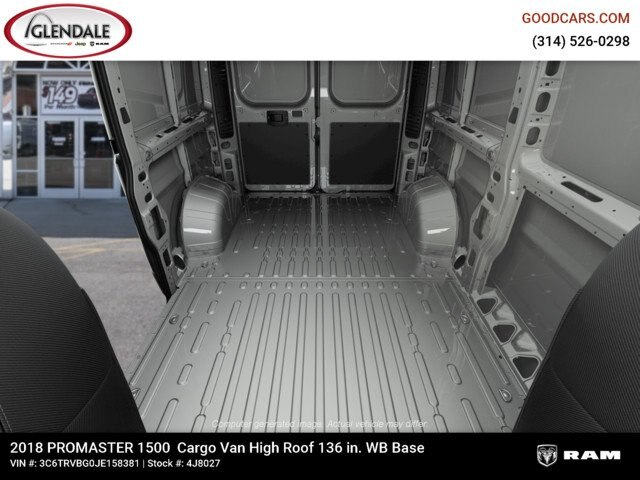 2018 ProMaster 1500 High Roof FWD,  Empty Cargo Van #4J8027 - photo 17