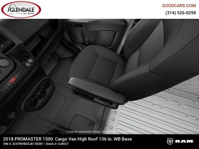 2018 ProMaster 1500 High Roof FWD,  Empty Cargo Van #4J8027 - photo 18
