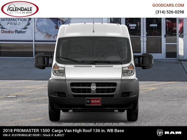 2018 ProMaster 1500 High Roof FWD,  Empty Cargo Van #4J8027 - photo 4