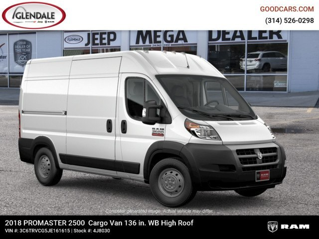 2018 ProMaster 2500 High Roof FWD,  Empty Cargo Van #4J8030 - photo 11