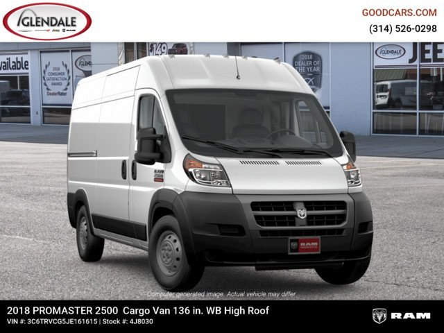 2018 ProMaster 2500 High Roof FWD,  Empty Cargo Van #4J8030 - photo 12
