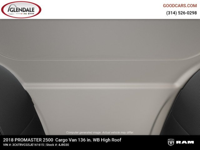 2018 ProMaster 2500 High Roof FWD,  Empty Cargo Van #4J8030 - photo 15