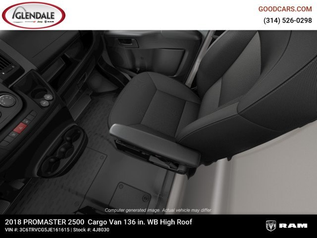 2018 ProMaster 2500 High Roof FWD,  Empty Cargo Van #4J8030 - photo 16
