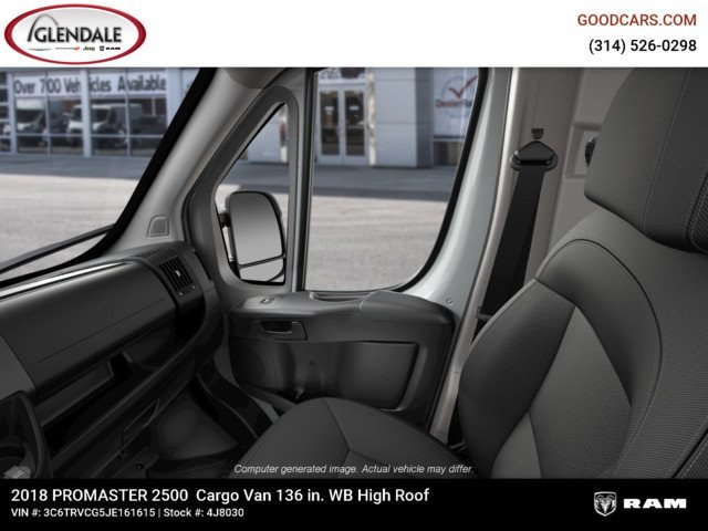 2018 ProMaster 2500 High Roof FWD,  Empty Cargo Van #4J8030 - photo 17