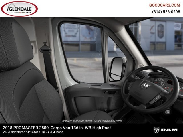 2018 ProMaster 2500 High Roof FWD,  Empty Cargo Van #4J8030 - photo 18