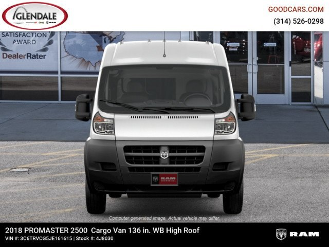 2018 ProMaster 2500 High Roof FWD,  Empty Cargo Van #4J8030 - photo 3