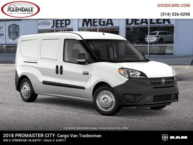 2018 ProMaster City FWD,  Empty Cargo Van #4J9017 - photo 10