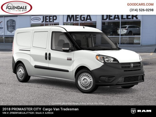 2018 ProMaster City FWD,  Empty Cargo Van #4J9024 - photo 10