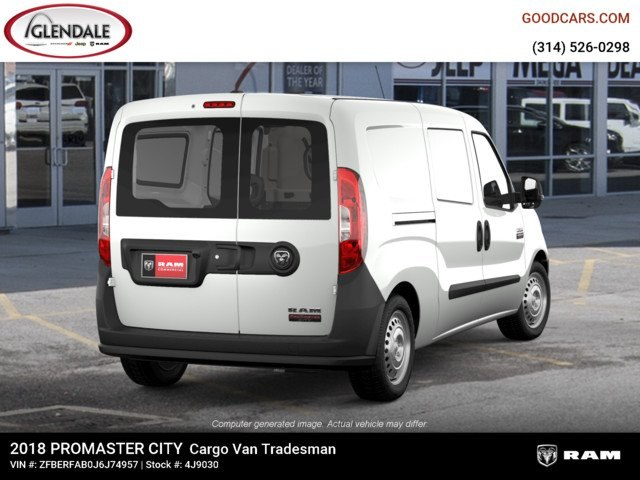 2018 ProMaster City FWD,  Empty Cargo Van #4J9030 - photo 8