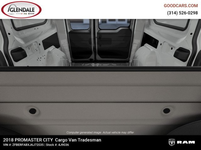 2018 ProMaster City,  Empty Cargo Van #4J9036 - photo 14