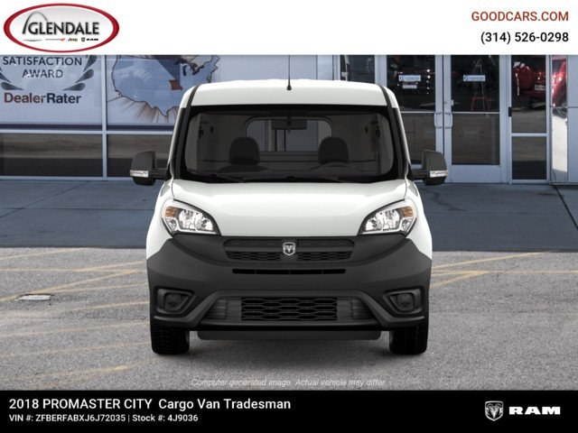 2018 ProMaster City,  Empty Cargo Van #4J9036 - photo 4