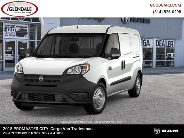 2018 ProMaster City,  Empty Cargo Van #4J9036 - photo 3