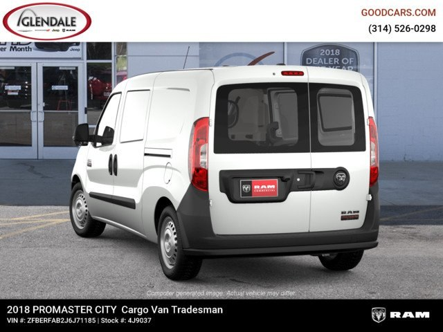 2018 ProMaster City,  Empty Cargo Van #4J9037 - photo 2