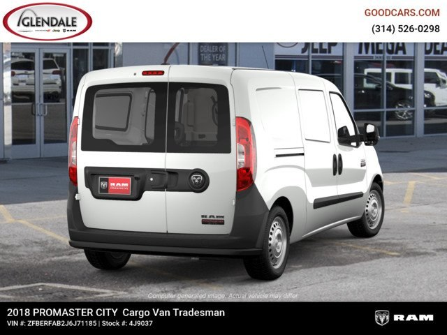 2018 ProMaster City,  Empty Cargo Van #4J9037 - photo 7