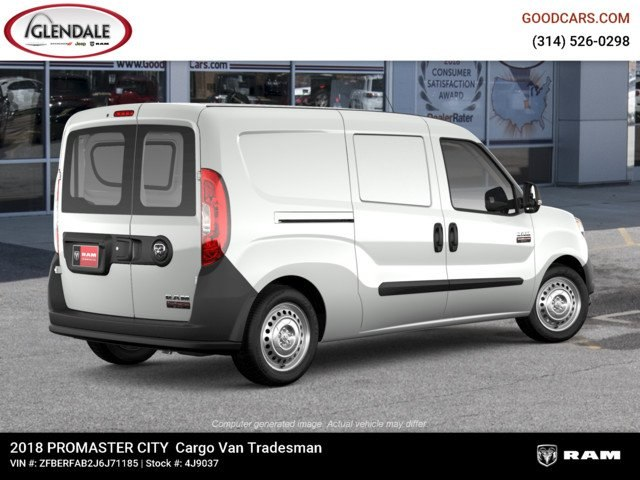 2018 ProMaster City,  Empty Cargo Van #4J9037 - photo 8