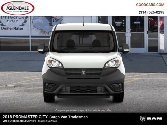 2018 ProMaster City,  Empty Cargo Van #4J9040 - photo 3