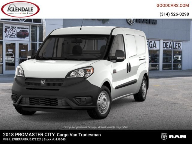 2018 ProMaster City,  Empty Cargo Van #4J9040 - photo 4