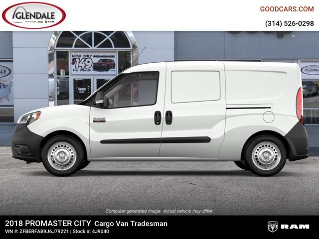 2018 ProMaster City,  Empty Cargo Van #4J9040 - photo 5