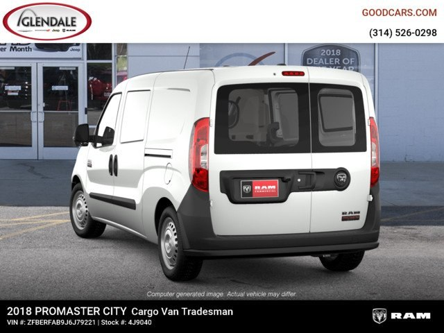 2018 ProMaster City,  Empty Cargo Van #4J9040 - photo 2