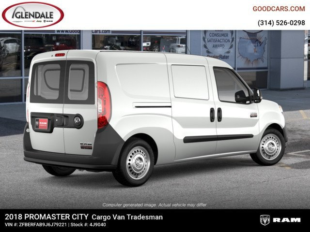 2018 ProMaster City,  Empty Cargo Van #4J9040 - photo 8