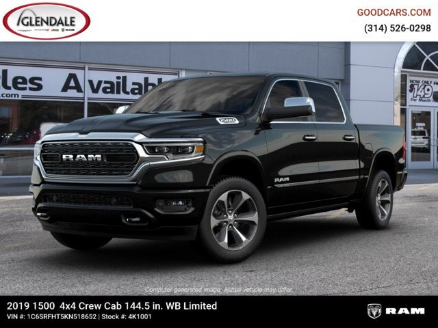 2019 Ram 1500 Crew Cab 4x4,  Pickup #4K1001 - photo 1