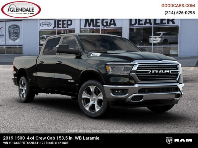 2019 Ram 1500 Crew Cab 4x4,  Pickup #4K1008 - photo 6