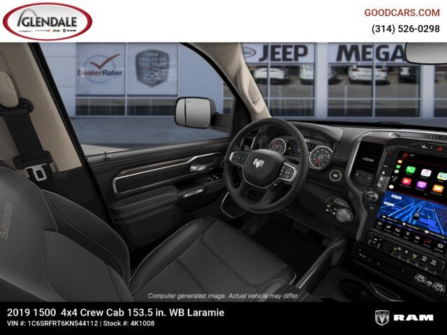 2019 Ram 1500 Crew Cab 4x4,  Pickup #4K1008 - photo 9