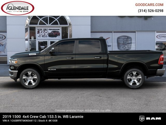 2019 Ram 1500 Crew Cab 4x4,  Pickup #4K1008 - photo 5