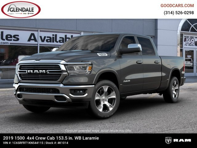 2019 Ram 1500 Crew Cab 4x4,  Pickup #4K1014 - photo 1