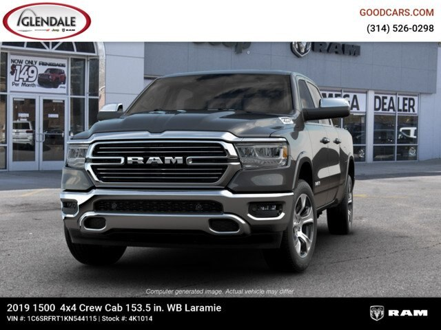 2019 Ram 1500 Crew Cab 4x4,  Pickup #4K1014 - photo 2