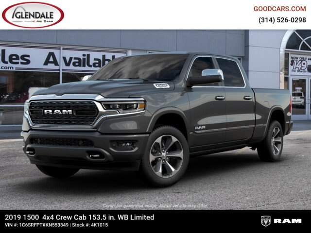 2019 Ram 1500 Crew Cab 4x4,  Pickup #4K1015 - photo 1