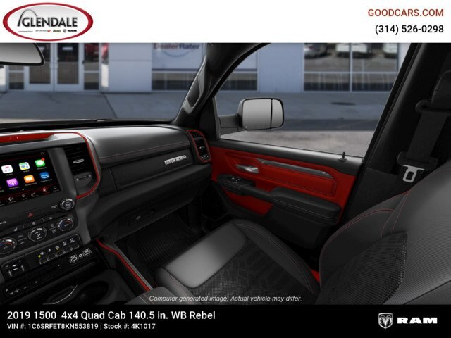 2019 Ram 1500 Quad Cab 4x4,  Pickup #4K1017 - photo 18