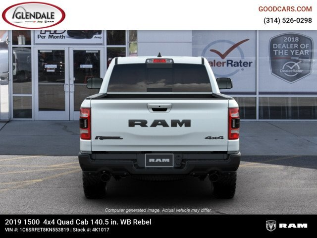 2019 Ram 1500 Quad Cab 4x4,  Pickup #4K1017 - photo 1