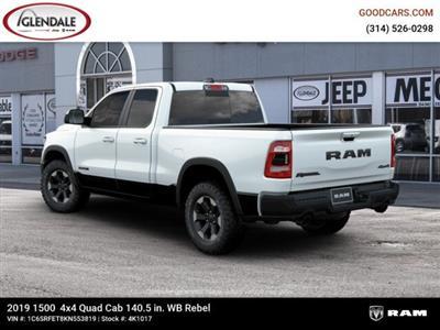 2019 Ram 1500 Quad Cab 4x4,  Pickup #4K1017 - photo 2