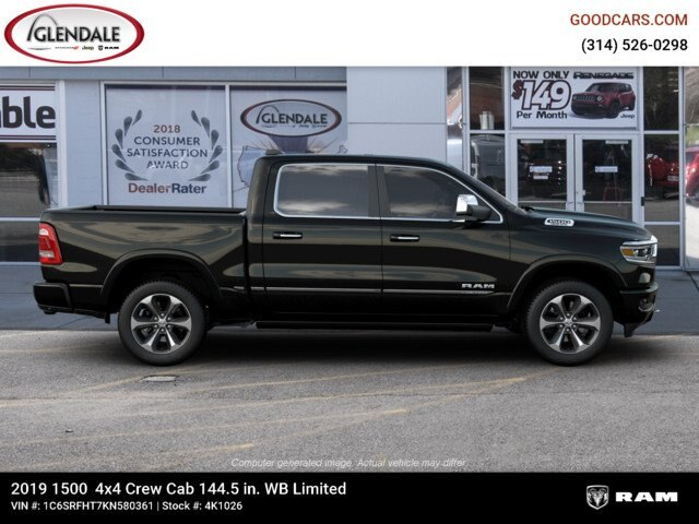 2019 Ram 1500 Crew Cab 4x4,  Pickup #4K1026 - photo 10