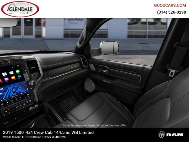 2019 Ram 1500 Crew Cab 4x4,  Pickup #4K1026 - photo 16