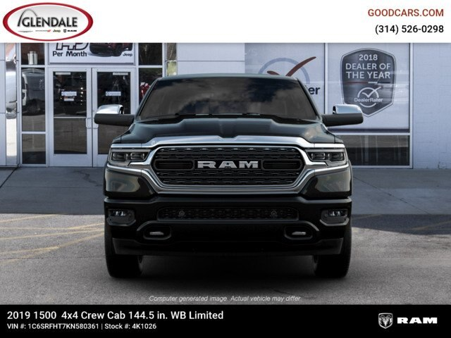 2019 Ram 1500 Crew Cab 4x4,  Pickup #4K1026 - photo 4