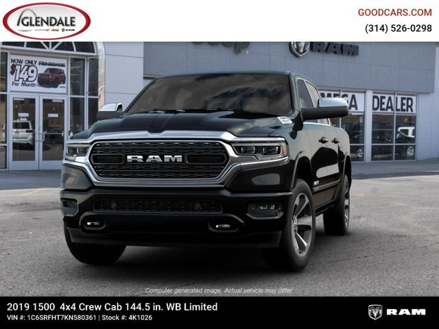 2019 Ram 1500 Crew Cab 4x4,  Pickup #4K1026 - photo 2