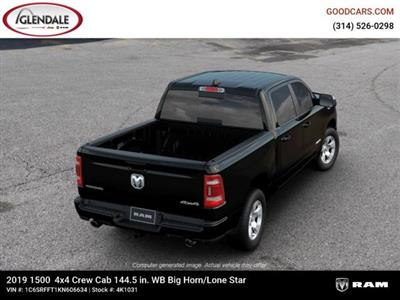 2019 Ram 1500 Crew Cab 4x4,  Pickup #4K1031 - photo 8