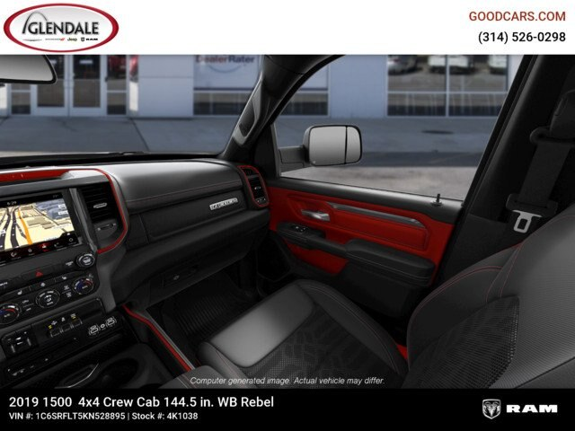 2019 Ram 1500 Crew Cab 4x4,  Pickup #4K1038 - photo 22