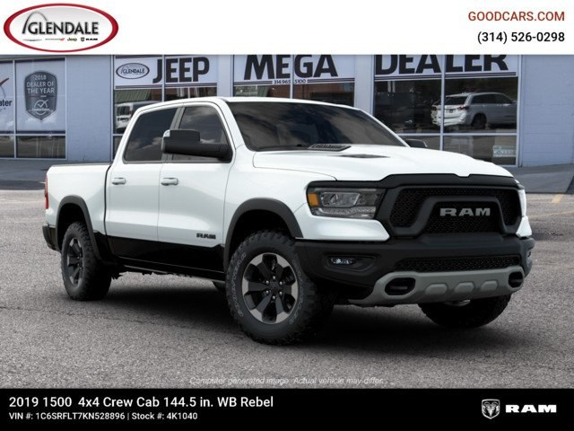 2019 Ram 1500 Crew Cab 4x4,  Pickup #4K1040 - photo 11